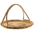 Vintage Papago Tribe Basket Weaving 32000