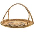 Unique hand Woven Papago Basket 32000