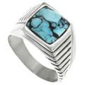 Spiderweb Turquoise Ring 32023