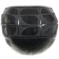 Heavy Blackware Native American Vase 32068