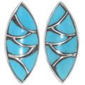 Zuni Turquoise Post Earrings 32085