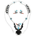 Thunderbird Turquoise Jewelry Set 32100