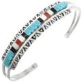 Zuni Turquoise Shell Bracelet 32110