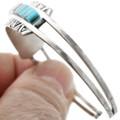 Inlaid Turquoise Cuff Bracelet 32110