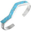 Turquoise Inlay Bracelet 32115
