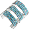 Turquoise Sterling Silver Bracelet 32119