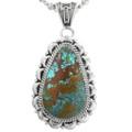 Nevada Turquoise Navajo Pendant 32175