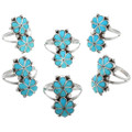Native American Turquoise Rings 32196