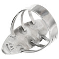 Zuni Sterling Silver Ring Artist Signed 32243
