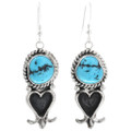 Turquoise Squash Blossom with Matching Earrings 32267