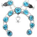 Kingman Turquoise Navajo Necklace 32267
