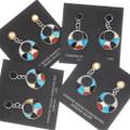 Zuni Turquoise Dangle Earrings 32333
