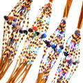 Colorful Navajo Made Beaded Bracelet 32341