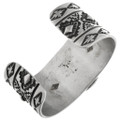 Navajo Made Bracelet Artist Reggie and Sherry Greenstone 32489