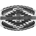 Vintage Overlaid Silver Belt Buckle 32497