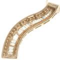 Ladies Designer Style Diamond 10K Gold Pendant 32504