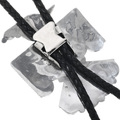 Sterling Silver Native American Bolo Tie 32561