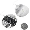 Silver Overlay Richard Singer Earrings 32563