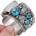 Navajo Sterling Silver Watch Bracelet 32565