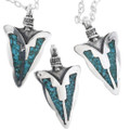 Native American Arrowhead Pendants 32619