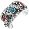 Old Pawn Kingman Turquoise Bracelet 32631