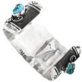 Native American Turquoise Bracelet Artist Signed 32631