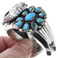 Natural Ithaca Peak Turquoise Watch Cuff 32809