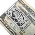 Silver Overlay Native American Buffalo Money Clip 32817