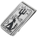 Desert Coyote Money Clip 32830