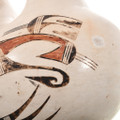 Hopi Wedding Vase Feather Woman Signed 32832