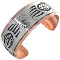 Bear Paw Silver Copper Bracelet 32859