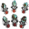Royston Turquoise Native American Rings 32914
