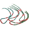 Native American Turquoise Heishi Necklaces 32965