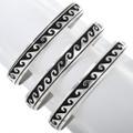 Native American Sterling Silver Cuff Bracelet 32982