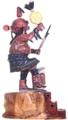Medium Size Kachina Doll 33011