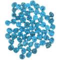 8mm x 6mm Oval Freeform Arizona Turquoise Cabochons 32729