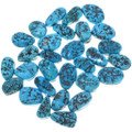 14mm to 16mm Freeform Turquoise Nugget Cabochons 32730