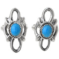 Turquoise Silver Ladies Ring 33080
