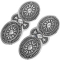 Sterling Silver Native Made Hair Barrette 33086