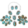 High Grade Number 8 Turquoise Necklaces 33104