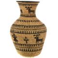 Apache Linda Guzman Hand Woven Basket 33108