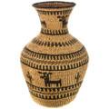 Large Figural Apache Olla Basket 33108