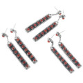 Native Made Coral Earrings 33137