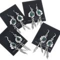 Navajo Mark Davis Malachite Earrings 33146