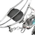 Navajo Max Calladitto Turquoise Slave Bracelet 33166