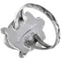 Sterling Silver Native American Ring Signed 33223