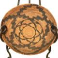 Vintage California Mission Basket 33236