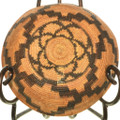 Hand Woven Indian Basket Bowl 33236