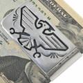 Hand Made Navajo Overlay Money Clip 33274