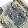 Traditional Southwest Navajo Money Clip 33275